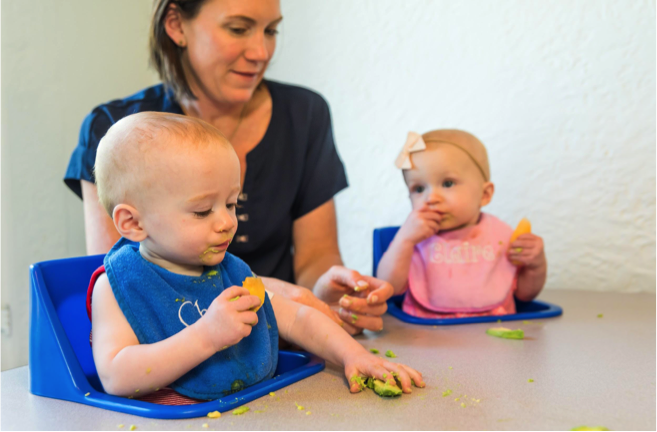 Because of their flavor and texture, Katie Ferraro believes California avocados are a great supplementary option for babies weaning off breast milk or formula.