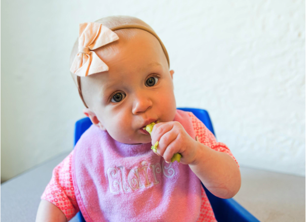 Katie Ferraro's guest blog post on The Scoop provided parents with a tasty and nutritious first solid baby food option — California avocados.