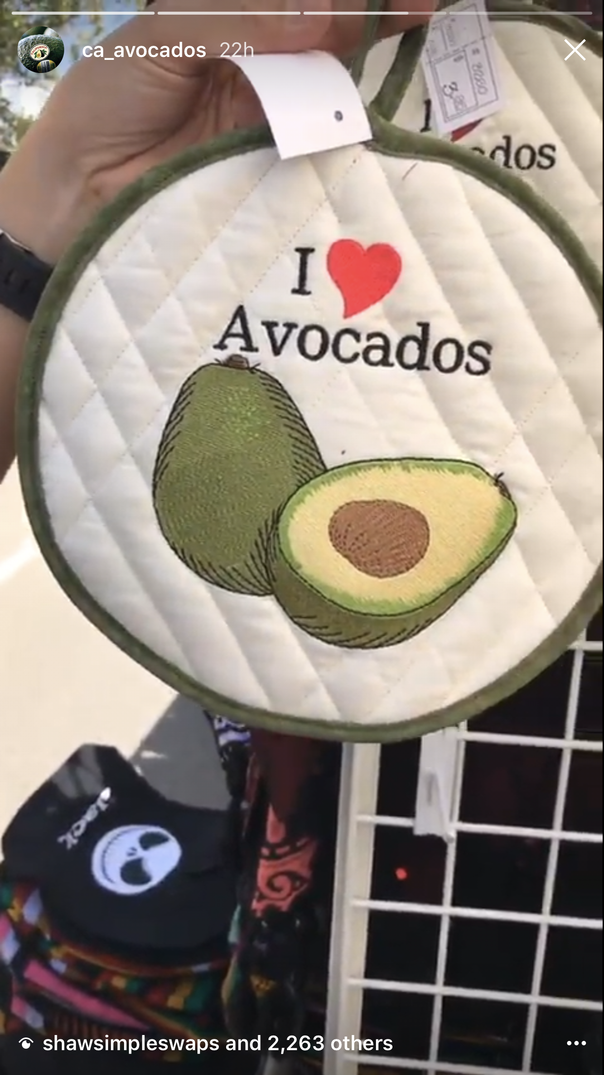 CAC's Instagram fans were treated to photos of California avocado fan paraphernalia from the 31st Annual Fallbrook Avocado Festival.