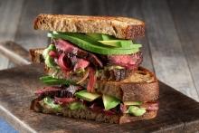 RDN Manuel Villacorta's California Avocado Steak Sandwich is a delicious, grilled summer recipe.