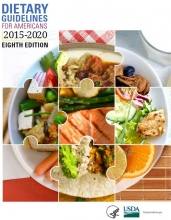 The cover of the Dietary Guidelines for Americans 2020-2025 features mashed avocados.