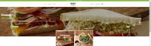 Erik's DeliCafe FOOD landing page showcases California avocado menu items and the California Avocados brand logo front and center.