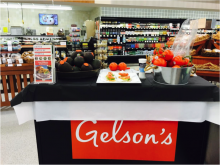 Demos at Gelson's showcased California avocados and United Plates of America recipe booklets during California avocado month.
