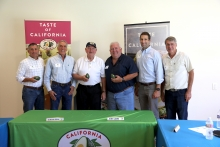 United States Secretary of Agriculture Sonny Perdue toured Rancho Guejito Avocado Farm in Escondida, visiting with California avocado grower Al Stehly, CAC Chairman John Lamb, CAC President Tom Bellamore and other representatives of the Commission.