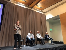 CAC Vice President Marketing Jan DeLyser moderated a panel discussion concerning the challenges and opportunities presented by the organics market.