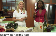 """Raley's Supermarket Dietitian discussed """"good fats"""" and California avocados on a Sac & Co TV segment."""