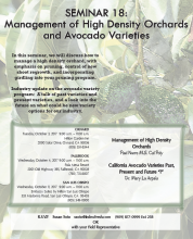 Index Fresh High Density Grove Management Seminar