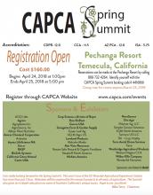 CAPCA 2018 Spring Summit