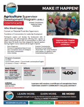 Ventura County Spanish-language Ag Supervisor Training