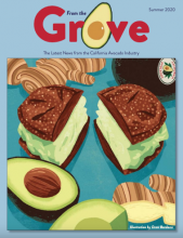 The Summer 2020 issue of From the Grove is now available on the California avocado growers website.