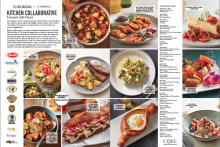 The 3-way California Avo-Tacos were showcased in a May/June issue print ad.
