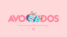 """The """"Summer"""" campaign piece created by FOREAL using CGI animation truly brings California avocados to life."""