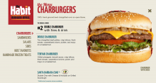 Habit Burger's online menu featured the California Avocados brand logo next to one of the chain's popular offerings.