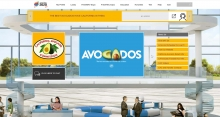 The California Avocado Commission's virtual booth.