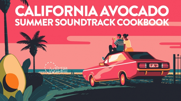 The California Avocado Summer Soundtrack Cookbook was featured in a The Scoop blog post where it is easily downloadable by fans.