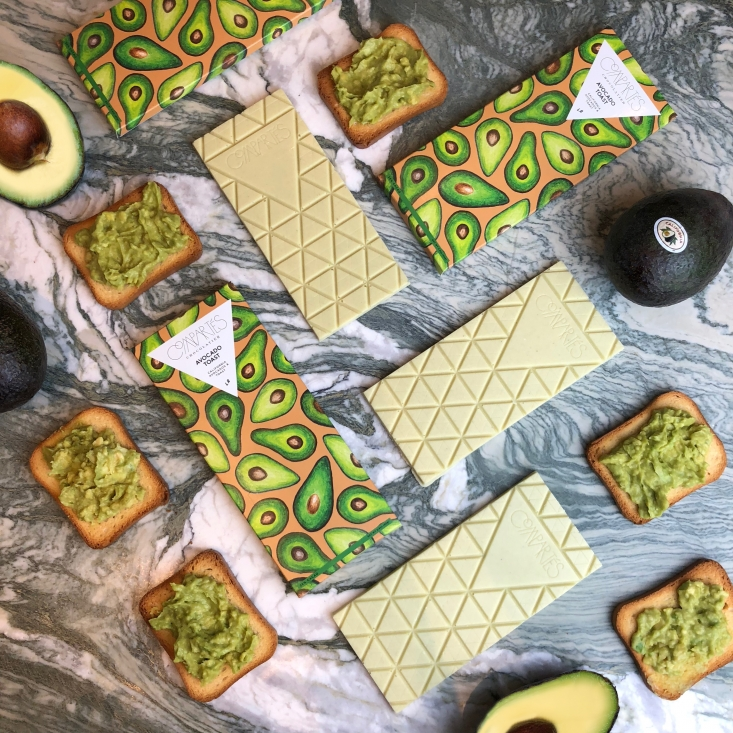 The California Avocado Toast Chocolate Bar is the first of its kind and has captured the attention of industry innovators.