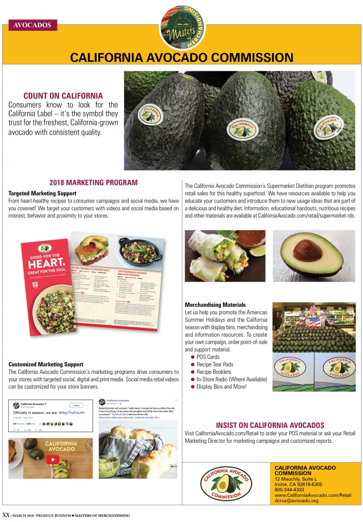 CAC launched its trade ad campaign with an editorial featured in Produce Business' Master of Merchandising.