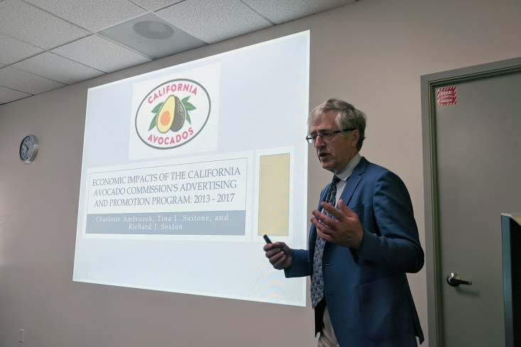 Dr. Sexton shared findings from the CAC-commissioned study indicating that CAC promotions have had a significant impact on consumption during the past five years.
