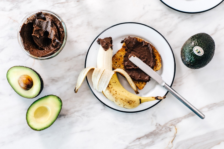 Haley Davis of Brewing Happiness swapped butter for a creamy California Avocado to create a Hazelnut Chocolate Spread with a thick and luscious texture.
