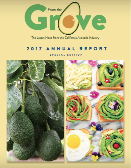 California Avocado Commission 2017 Annual Report