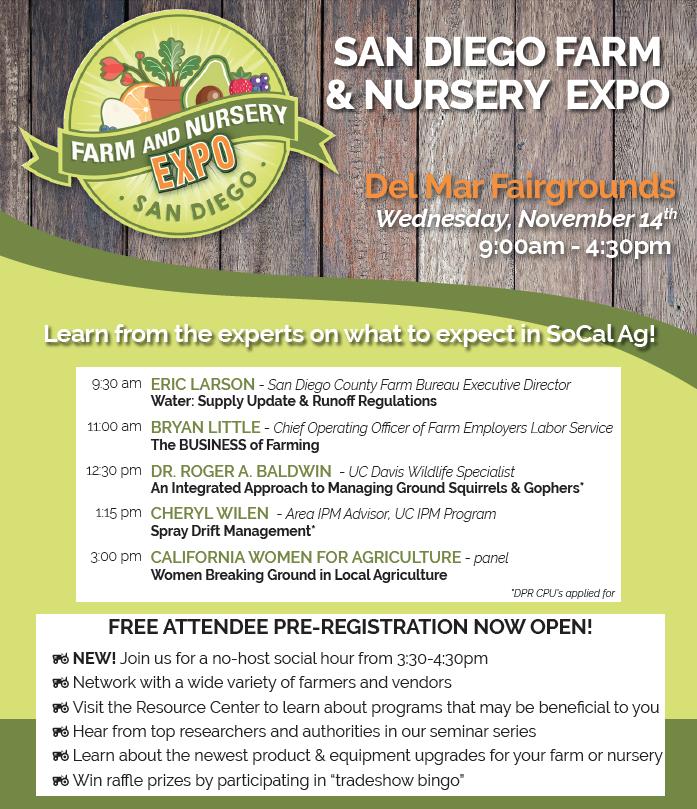 San Diego Farm and Nursery Expo