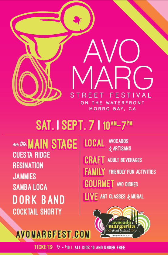 The 13th Annual Avocado and Margarita Festival features live music, family-friendly activities and California avocado dishes and beverages.