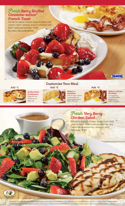 Ninety-five Shari's locations in the Western U.S. are showcasing California avocados on their summer menus.