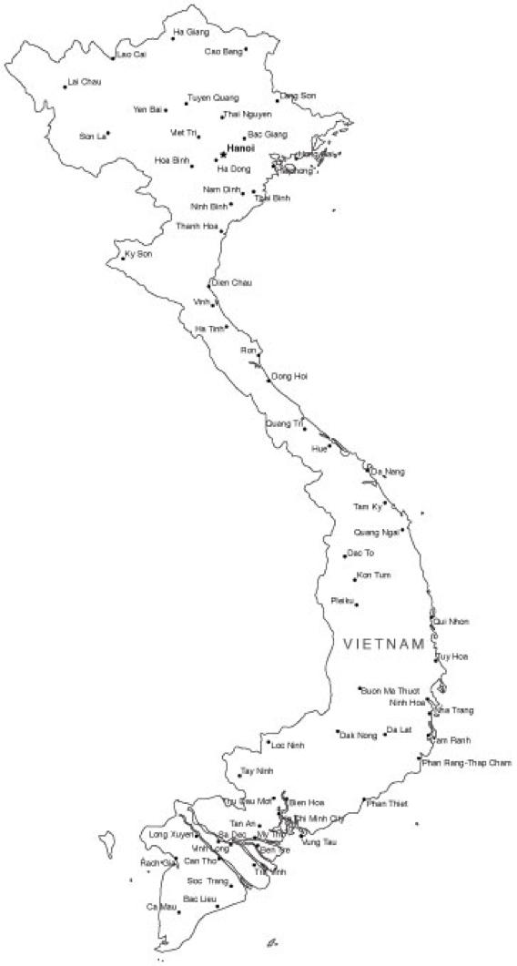 Vietnam Map Png California Avocado Commission