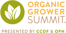 The Organic Grower Summit (OGS) will be held December 12 – 13 at the Monterey Conference Center, 1 Portola Plaza, Monterey, California.